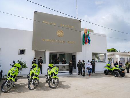 Barú tendrá nueva subestación de Policía, inspección de Policía, sede de JAC y oficina del Consejo