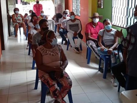 Organizaciones sociales de Cartagena reciben formación