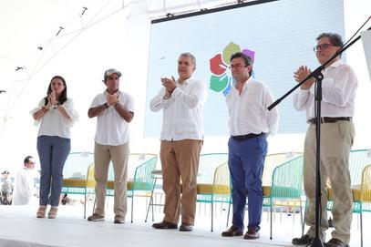 """""""Queremos que Barranquilla se vista de BID"""": Iván Duque"""