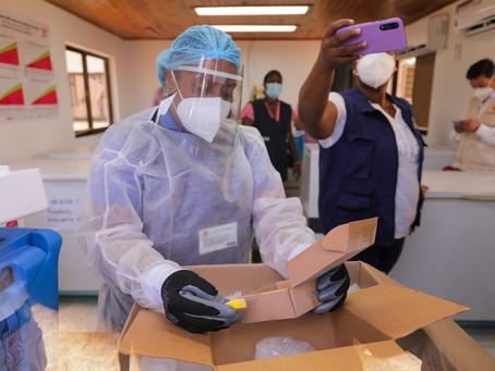 Con 42 vacunas, San Andrés realiza su primera jornada de vacunación