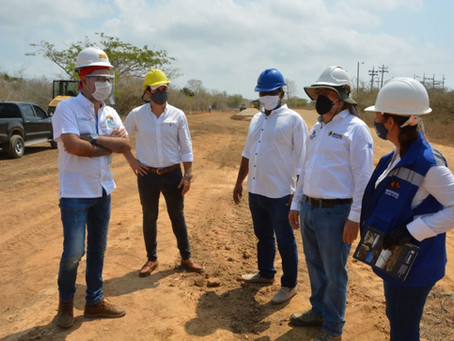 Reinicia adecuación de la vía San Onofre-Berrugas y ramal Rincón del Mar en Sucre