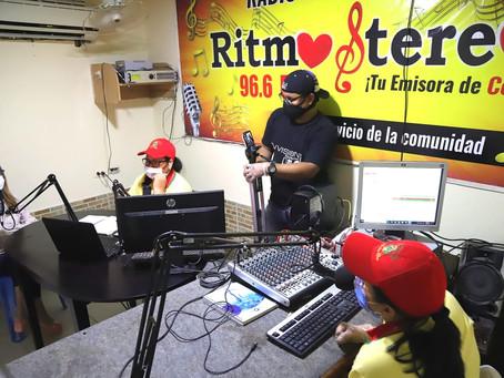 Nuevo contenido pedagógico en la radio fortalece programa 'Escuela en casa' en el Atlántico