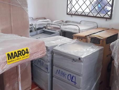 Alcaldía de Maria La Baja entregó insumos para puestos de salud por más 51 millones de pesos