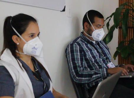 Cesar recoge información de manera virtual sobre las causas de los contagios