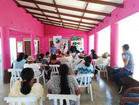 62 familias Wayuu recibieron insumos de agricultura y artesanías
