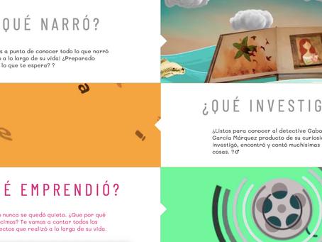 Juegos interactivos dirigidos a niños para aprender sobre el realismo mágico de Gabo