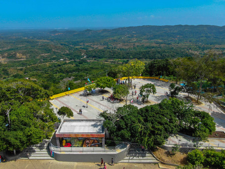 Renovado 'mirador' impulsa turismo en Tubará