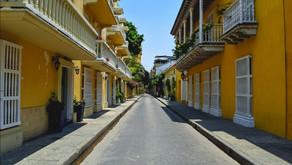 Circuito en el centro historico de cartagena para turistas