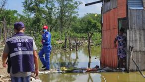 Cartagena presentó 134 emergencias en septiembre por las lluvias