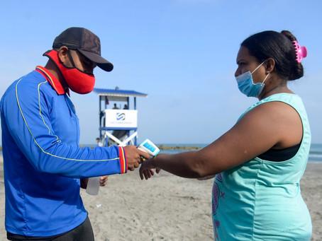 2 playas bioseguras son habilitadas en Cartagena