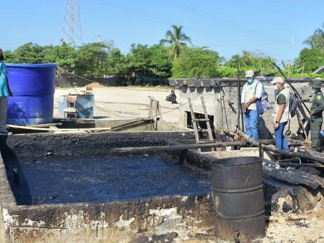 Cartagena: Suspenden labores en  lavadero que afecta caño en Policarpa