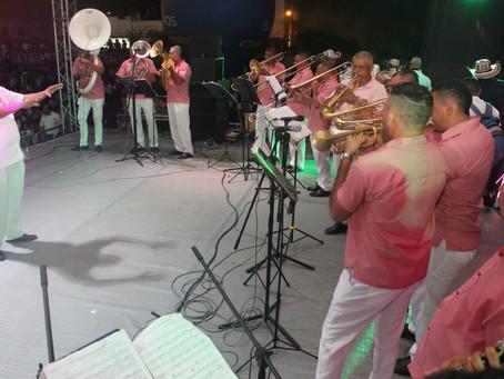 El XXXIV Encuentro Nacional de Bandas se tomó Sincelejo