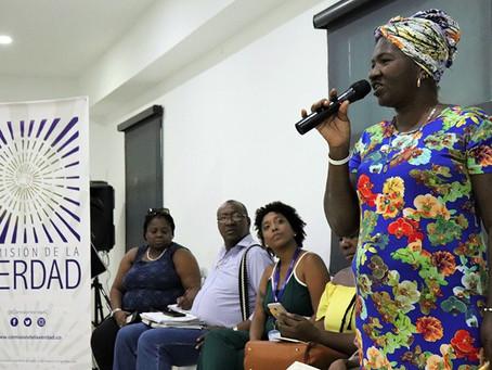 Mujeres constructoras de paz entregan recomendaciones a la Comisión de Esclarecimiento de la Verdad