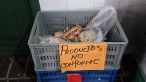 Se suspende entrega de PAE en escuela de Cartagena tras detectar productos en presunto mal estado