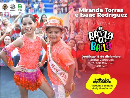 BailaQBaila llega con Miranda e Isaac al parque Venezuela