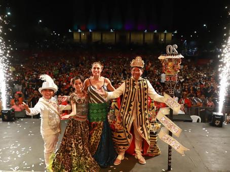 Rey Momo recibió corona y báculo para gobernar en el Carnaval de Barranquilla