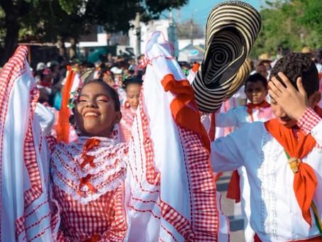 Así vivió Galapa su Gran Parada Departamental del Folclor