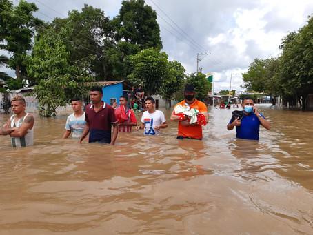 Damnificados por inundaciones del Magdalena recibirán ayudas por parte de la administración