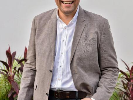 Mauricio Molinares, nuevo rector de la Universidad Autónoma del Caribe.