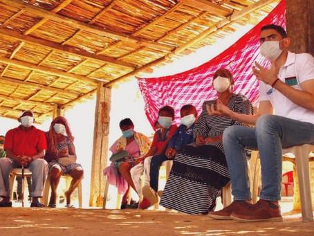 Guajira Azul inició el primer Wuinka Yootopülee o Círculo de la Palabra sobre el Agua