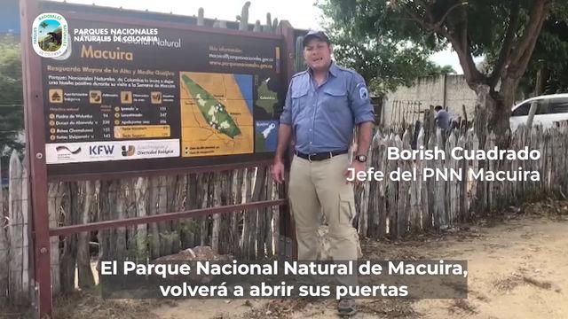 Parque Macuira en la Guajira, reabre sus puertas a partir de hoy 30 de julio