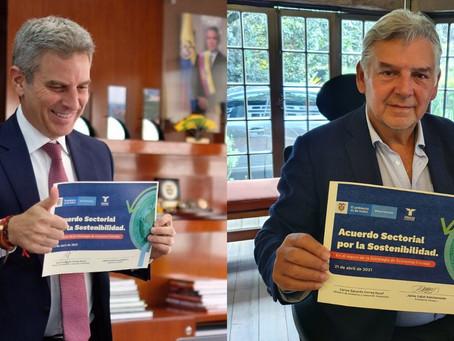 Fenalco firma acuerdo para fortalecer la economía circular