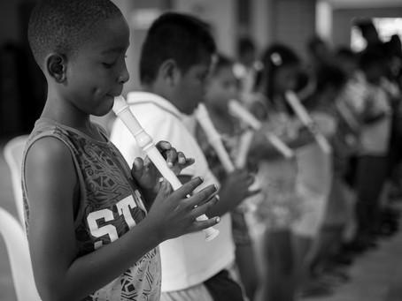 En el mes del niño BID patrocina Festival y Residencia Orquestal