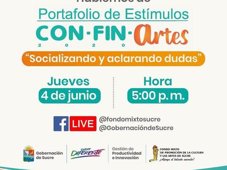 Con 93 millones se abre el Primer Portafolio de Estímulos de cultura en Sucre