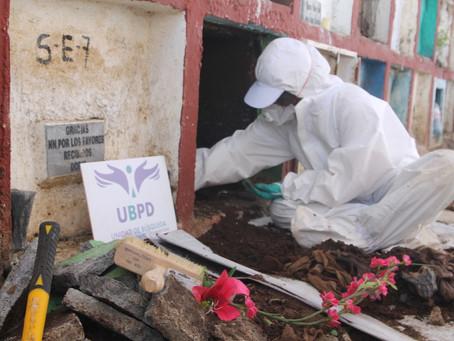 Cementerio de Curumaní, Cesar es intervenido para la búsqueda de personas desaparecidas