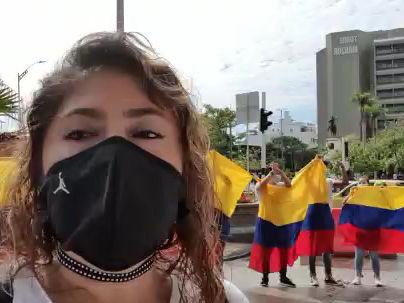 Comerciantes del centro de Barranquilla piden protestas sin violencia
