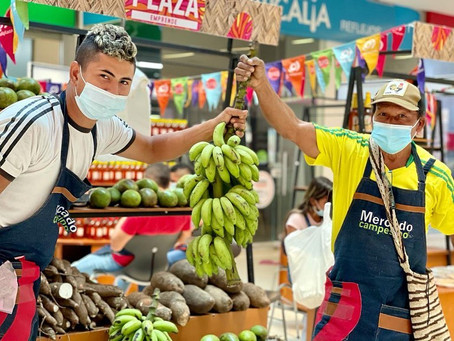 4to Mercado Campesino de Bolívar finaliza hoy lunes 31 de mayo