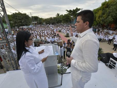Rodolfo Ucrós se posesionó para desarrollar el gran pacto social por Soledad