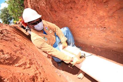 Proceso  de construcción acueducto  de Agustin Codazzi iniciaría el 12 de agosto