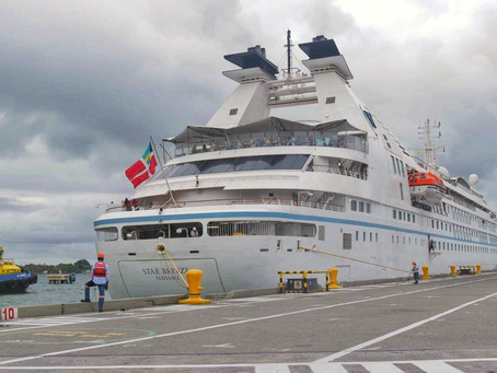 Después de 17 meses sin operaciones crucero llega a puerto colombiano en Cartagena