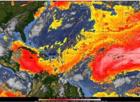 Polvo del  Sahara puede que llegue mayormente a  San Andrés, Santa Catalina y Providencia.