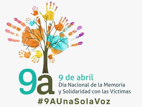 'A una sola voz', hoy se conmemora el Día Nacional de la Memoria y la Solidaridad con las Víctimas.