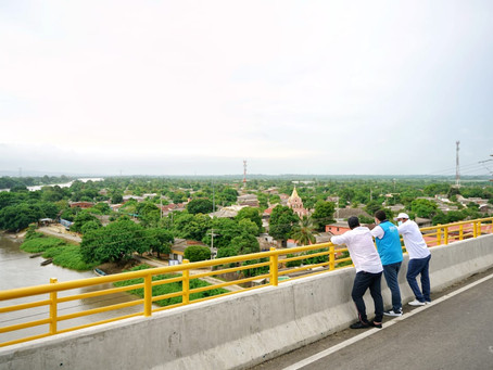 Así luce el nuevo puente Puente Catalino Parra en el Bolívar