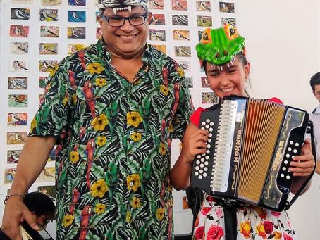 Isabel Sofía Picón, un genuino talento del acordeón