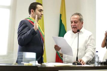 Vicente Blel hará equipo con alcaldes para que Bolívar sea primero