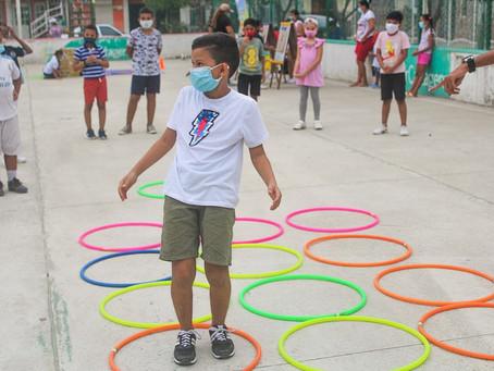 Cartagena realiza jornadas lúdicas para celebrar Mes de la Niñez
