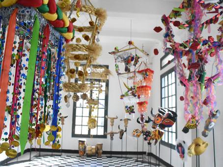 Exposición de 'Tradición, Máscaras y Farotas' está disponible en la Intendencia Fluvial