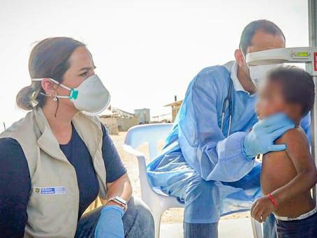 En La Guajira se dio inicio a segunda fase de entregas nutricionales