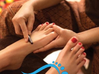 It's not just rubbing your feet!