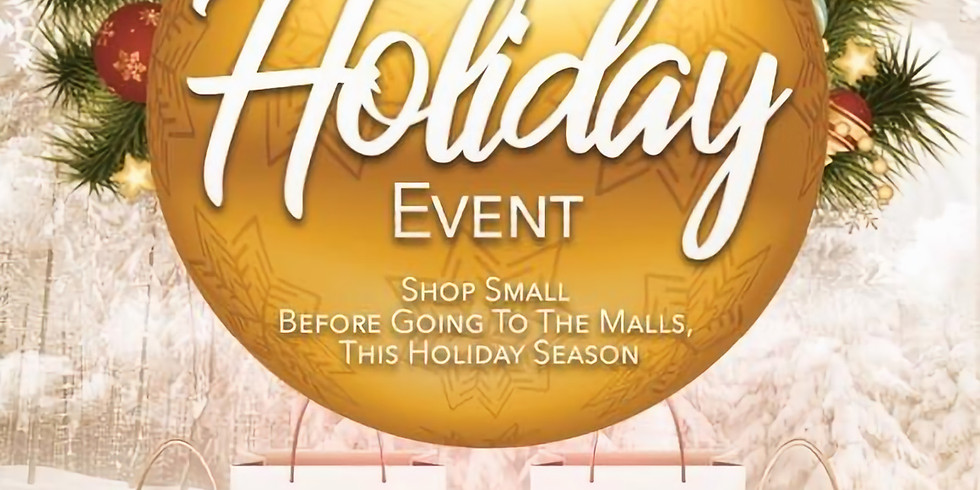 Shop Local - Pamper & Shop Holiday Party
