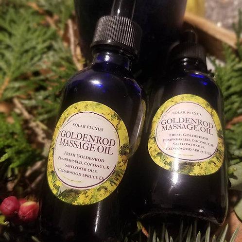Goldenrod Massage Oil