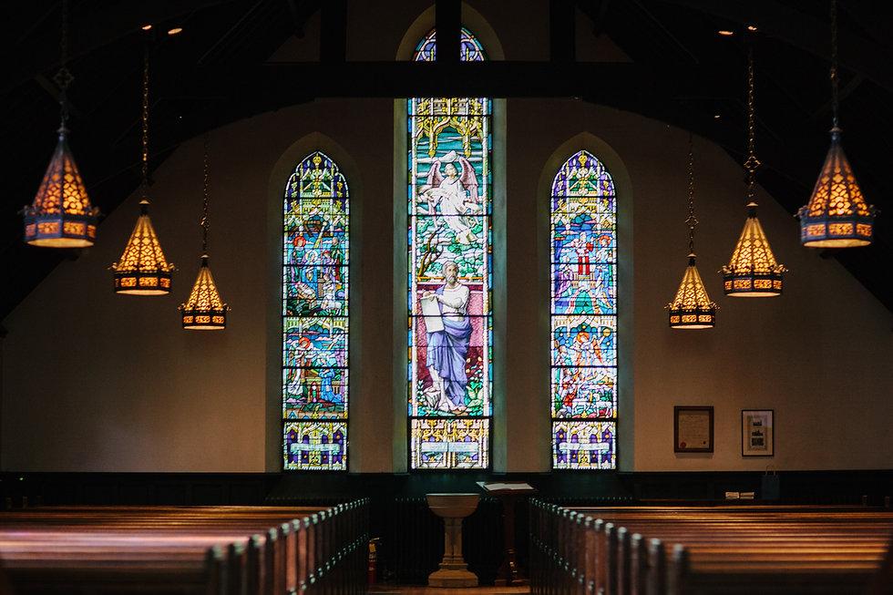 Janelas da igreja