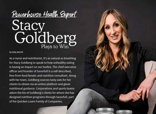 Extraordinary Health/Garden Of Life Magazine: Powerhouse Health Expert Stacy Goldberg Plays To Win