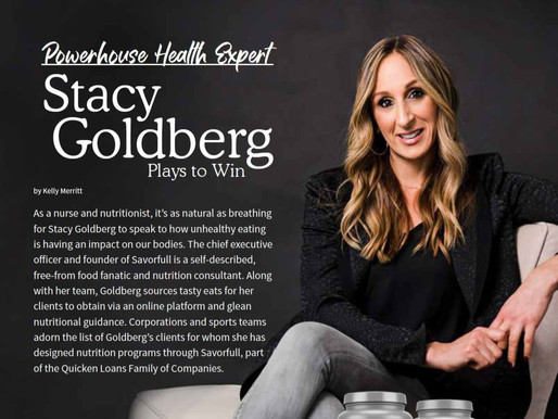 Extraordinary Health/Garden Of Life Magazine: Powerhouse Health Expert Stacy Goldberg Plays To Win