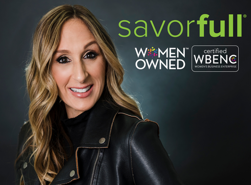 Savorfull Is Now A WBENC-Certified Women's Business Enterprise