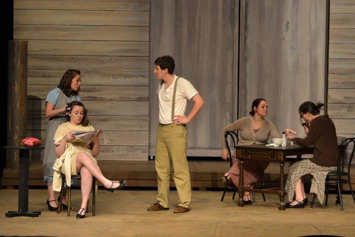 Blance Barrow in Bonnie & Clyde: The Musical